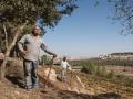 Arbeiter im Weingarten Cremisan bei Bethlehem, Foto by Claudia Menzler