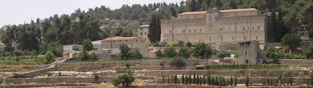 Weingut und Kloster Cremisan Panorama